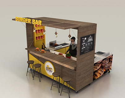 Burger Bar F&B Kiosk