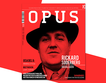 Opus Magazine Cover