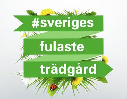 #SverigesFulasteTrädgård