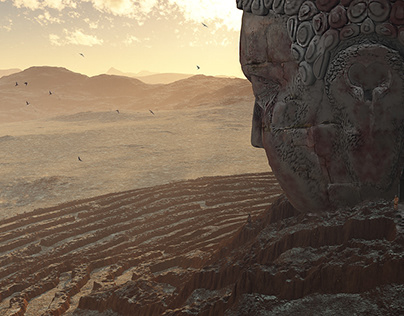 Sleeping Buddha maze