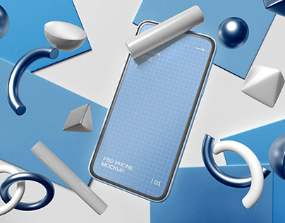 3D Smartphone Mockup