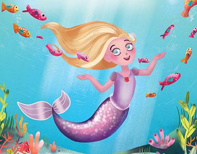 Marissa the Mermaid Book