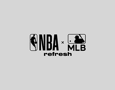 NBA × MLB Jersey Crossover | Refresh