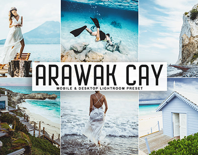 Free Arawak Cay Mobile & Desktop Lightroom Preset