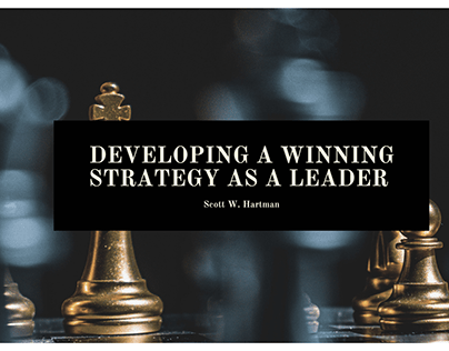Developing a Winning Strategy as a Leader