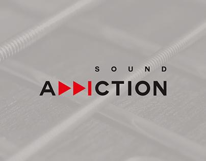 Sound Addiction || Brand Identity