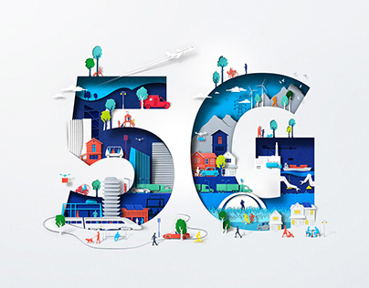 Nokia 5G illustrations