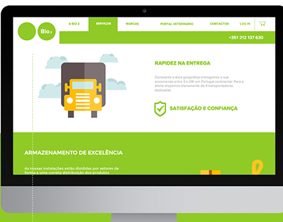 Bio 2 - Website e Loja Online