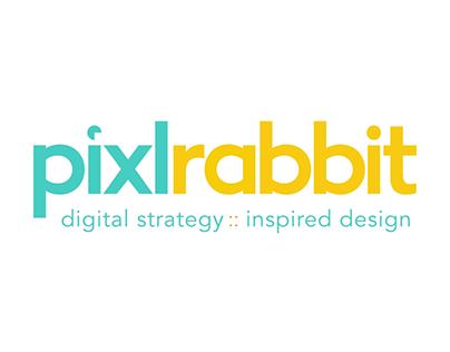 Pixlrabbit Logo Animation