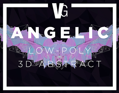 Angelic - Low-Poly 3D Abstract
