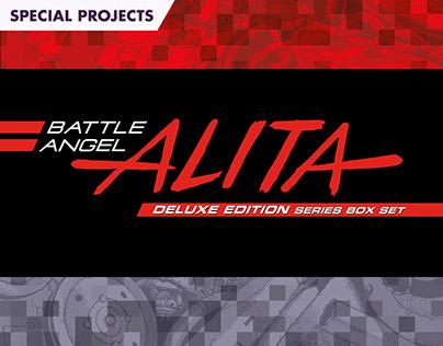 Battle Angel Alita Deluxe Edition Series Box Set