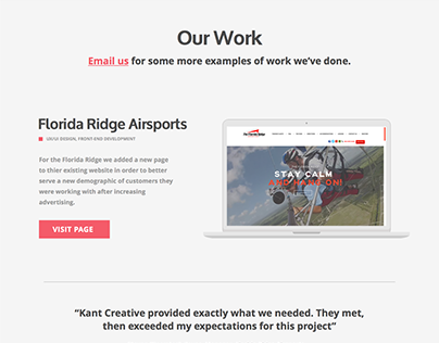 Kant Creative Branding & Website