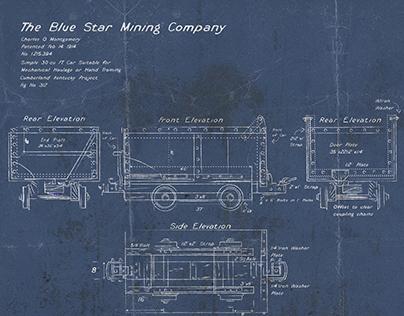 Blue Print Illustration