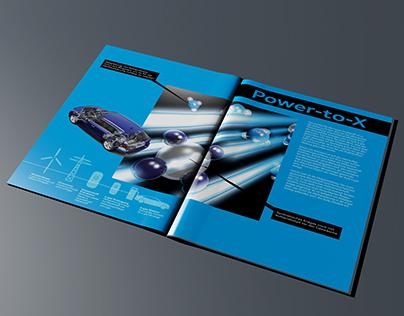 Magazine spread Audi e-tron (Concept)
