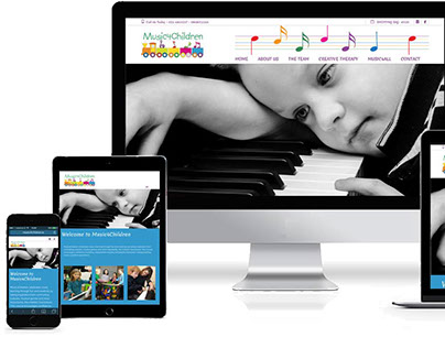 Music4Children Website Development