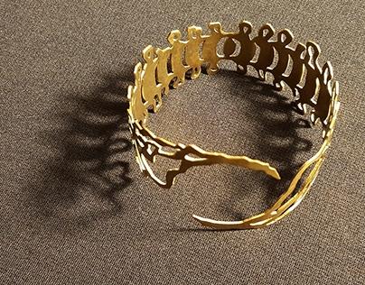 Upper Arm Cuff-Jewelry 2013