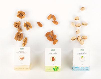 Packaging: Nuts