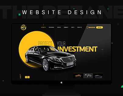 Car Wash Website Design