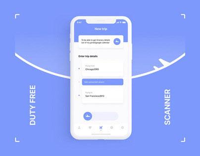 Scanner – UX/UI design mobile app