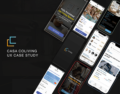 Casa Coliving UX CaseStudy