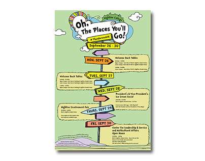 Oh, The Places You'll Go - Highline College Thunderweek