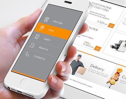 Profoto - On-line Store, E-commerce