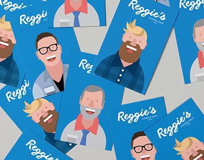 Reggie's Barber Shop.