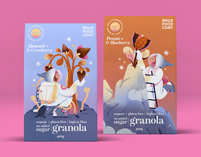 Spacefoodcorp Granola