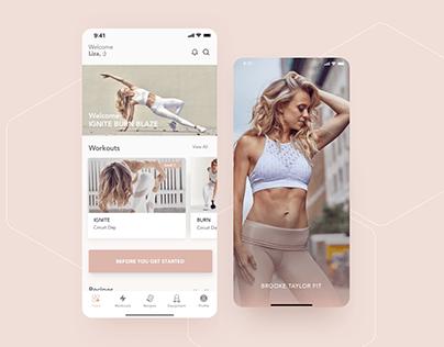 Brooke Taylor Fit - Fitness Mobile App