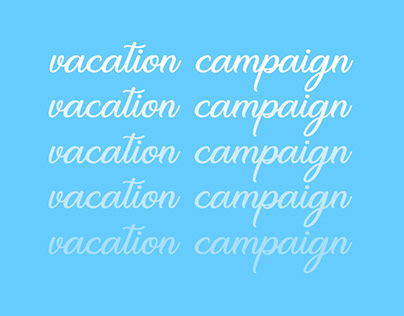 vacation campaign