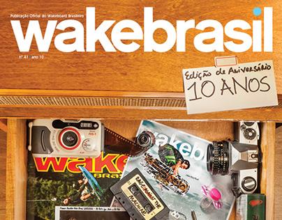 Diagramação da Revista Wake Brasil