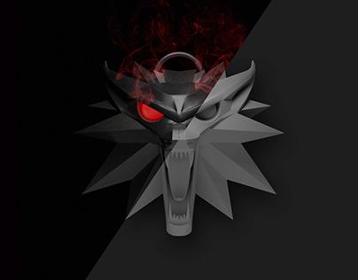 CGI/3D - Witcher Medallion
