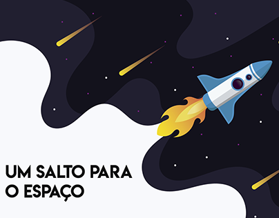 A viagem ao espaço !