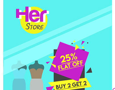 Her Store - A Fashion Brand's Website