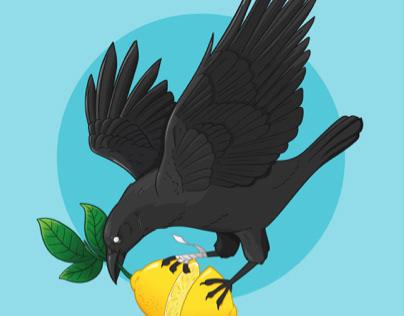 Lemon crow