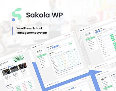 SakolaWP - WordPress School Management System