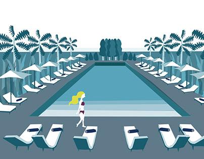 Resort illustration(personal)