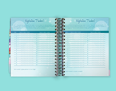Product Photography of my Yearly Planner Creation