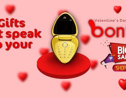 Valentine's Day Project ( Bontel S3+ Love Phone)