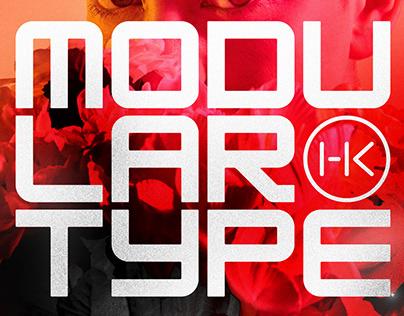 HK Modular Typeface