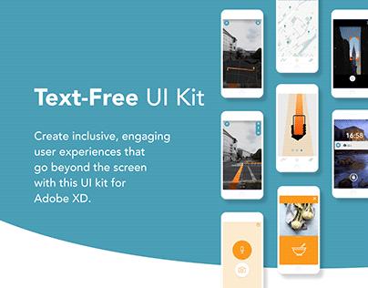Text-Free UI Kit