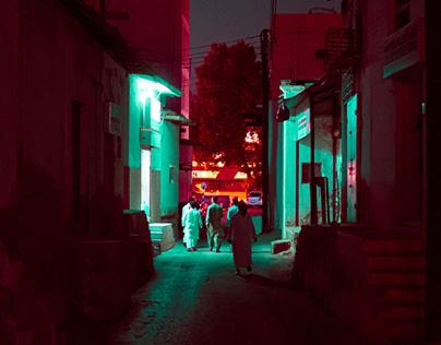 Night in Muscat