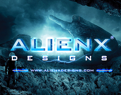 SciFi Cinematic Title Design