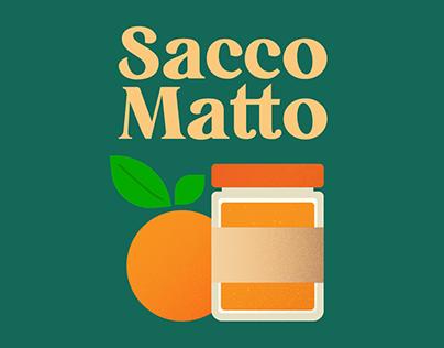 SaccoMatto - Rebrand & illustration system