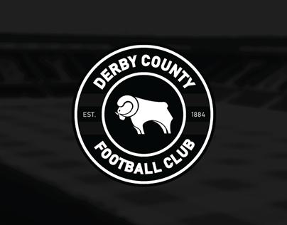 Derby County Football Club / Logo & Kit Concept