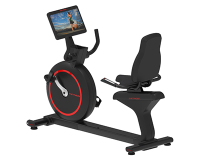Recumbent exercise bike Youhe fitness equipment design