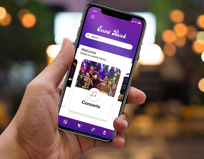 Event Book - Concept App