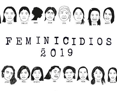 Feminicidios en Perú - 2019