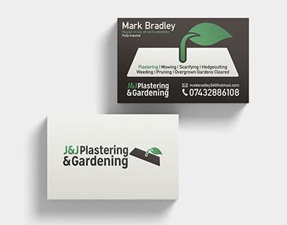 Customer: J&J Plastering & Gardening