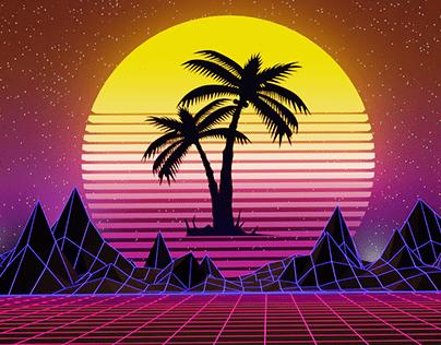 Synthwave Art